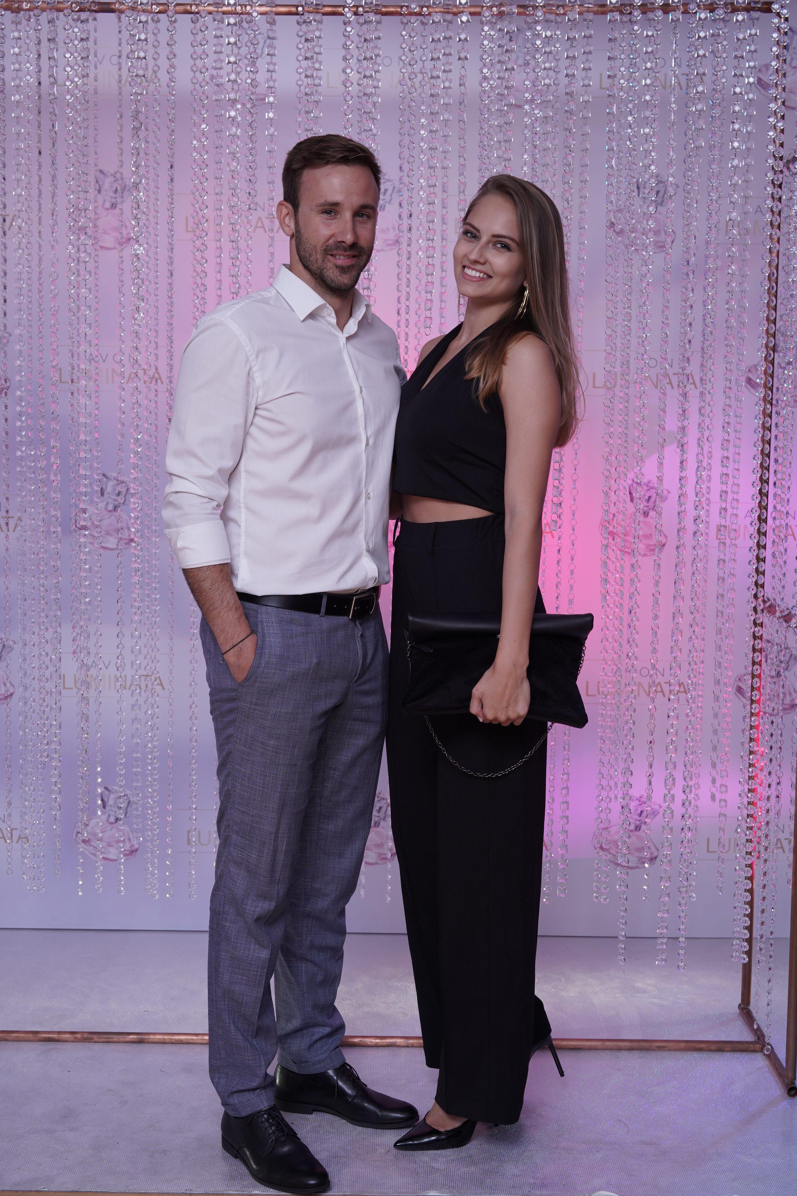 Herec Marek Fašiang s priateľkou