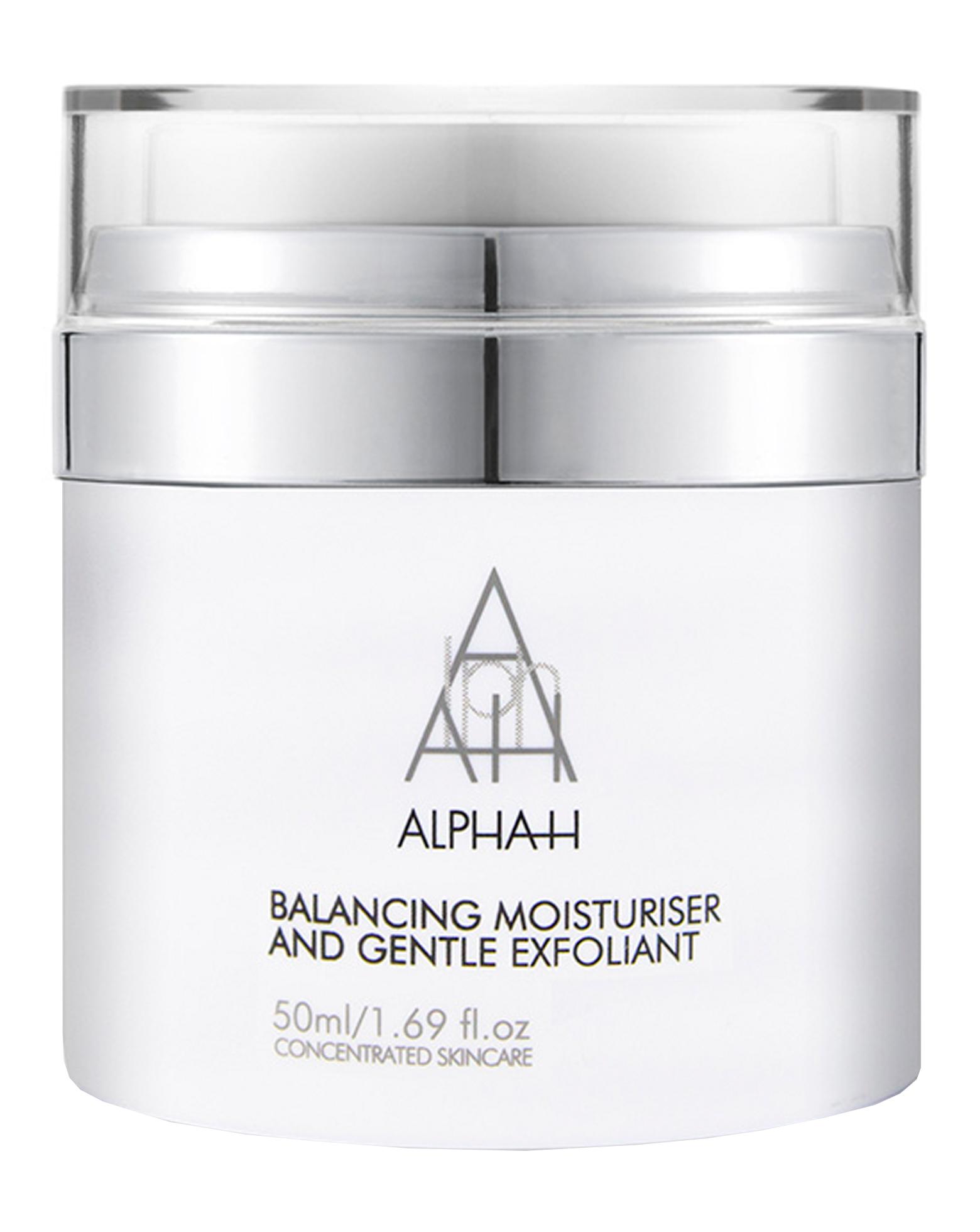 Alpha-H, Balancing Moisturiser & Gentle Exfoliant, ľahký hydratačný krém pre mastnú a zmiešanú pleť (50 ml)