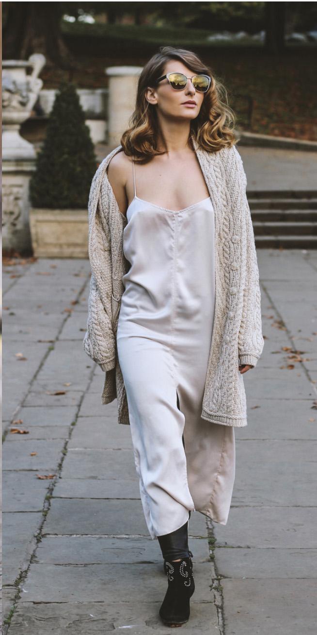 Hodvábne šaty