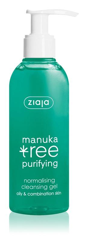 Manuka Tree,čistiaci gél pre mastnú a zmiešanú pleť