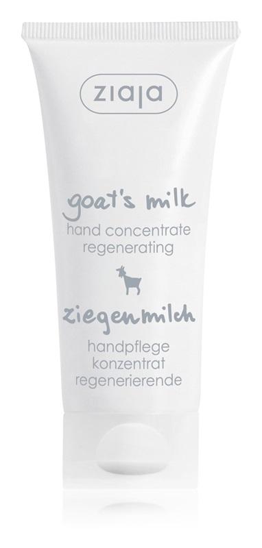 regeneračný krém na ruky s obsahom kozieho mlieka