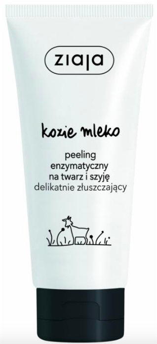 k-beauty, Ziaja, kozie mlieko, peeling