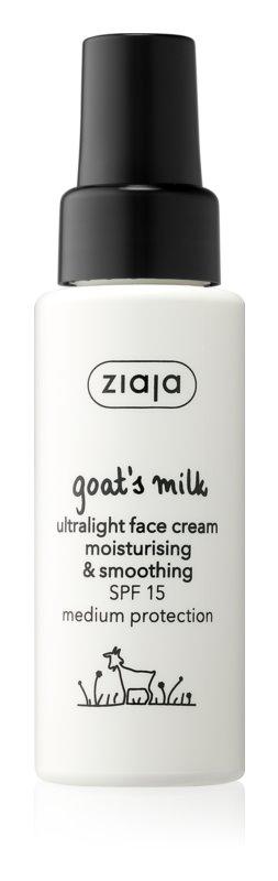 k-beauty, Ziaja Goat's Milk vyhladzujúci denný krém SPF 15