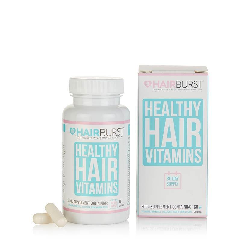 Hairburst vitamíny na rast vlasov.