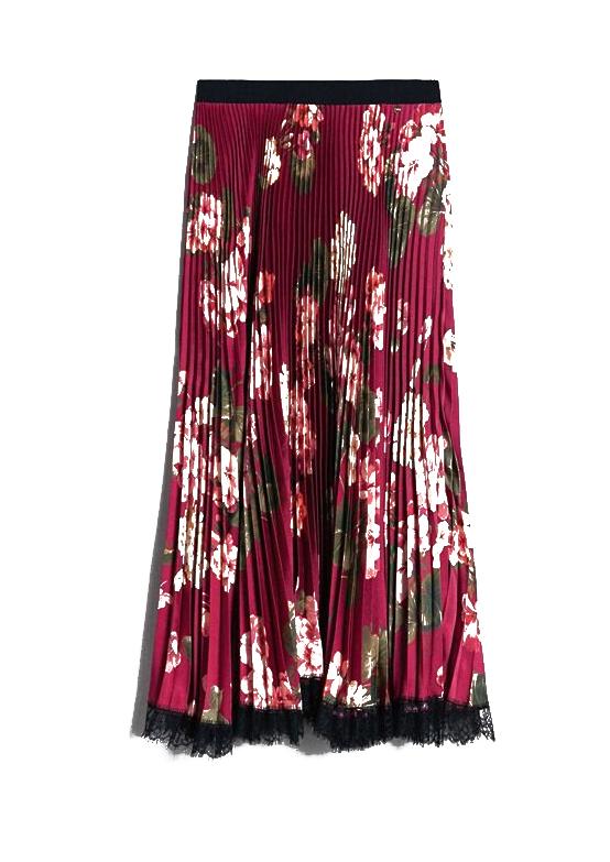 Twinset, kvetovaná sukňa
