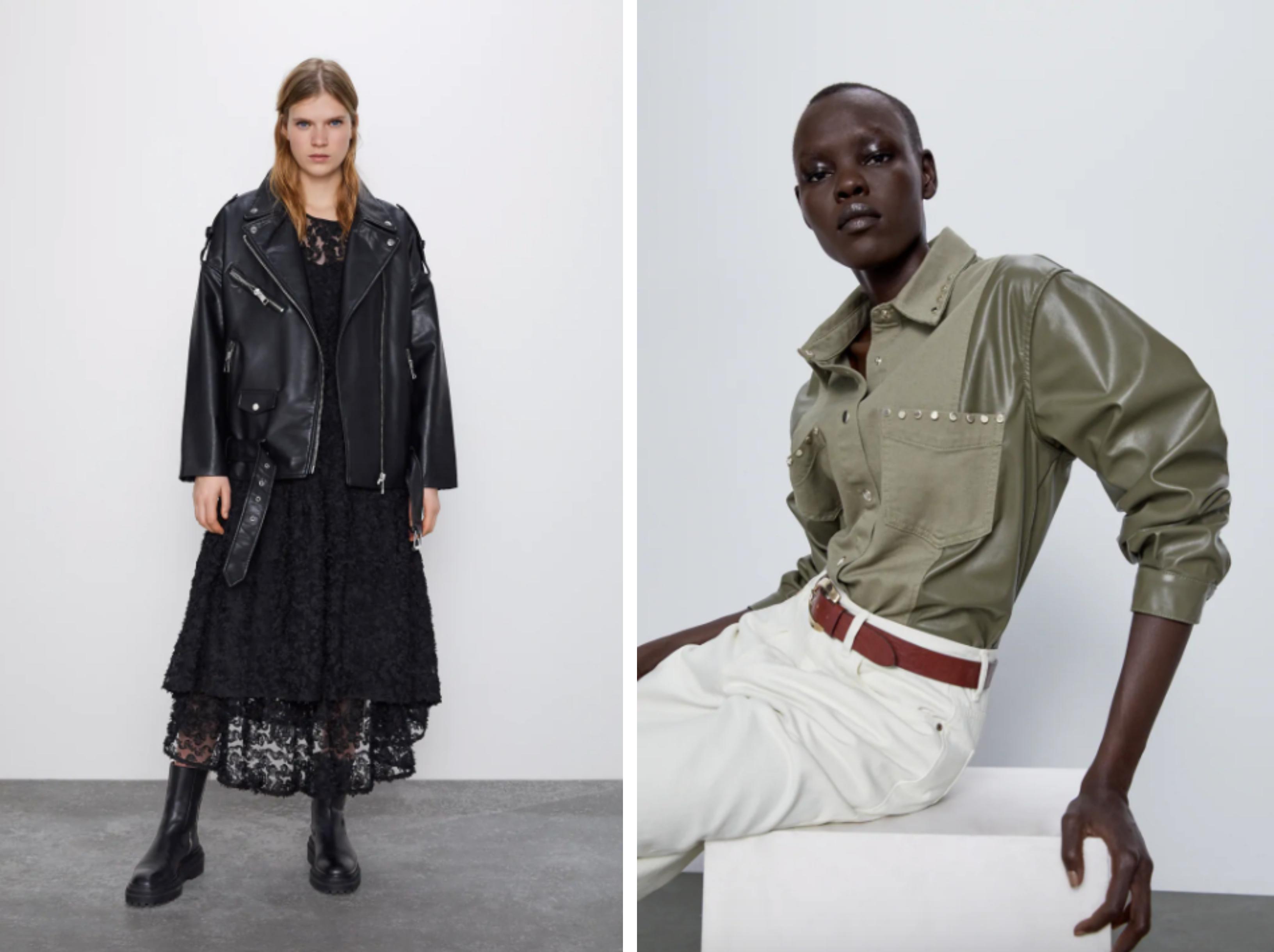 Zara, kožená bunda