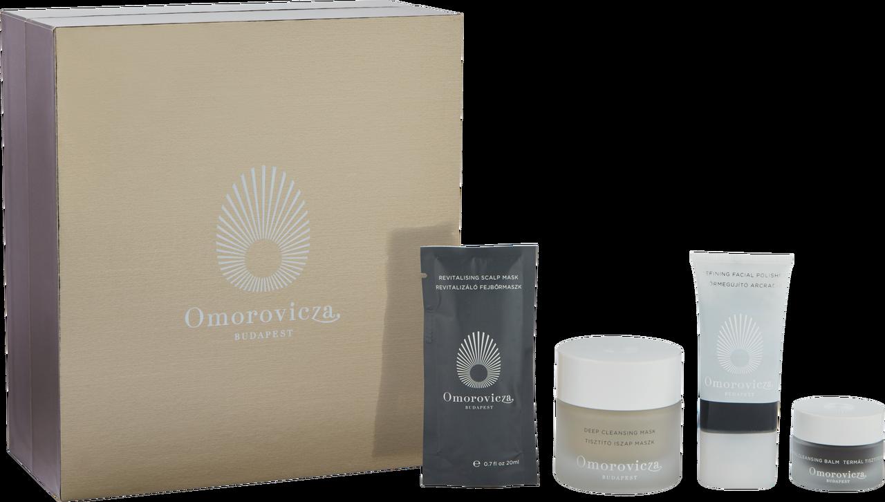 MUD DETOX COLLECTION Omorovicza Set čistiacich a detoxikačných produktov z bahennej kolekcie, 60€ (85€)