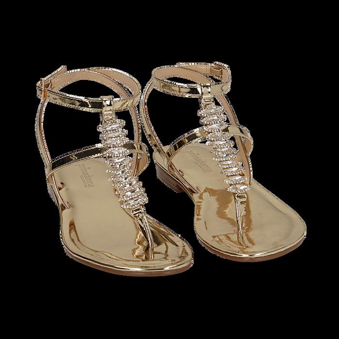 primadonnacollection.sk zlate sandale